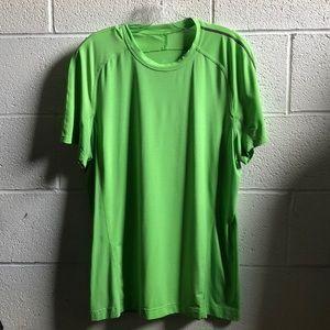 Lululemon men's green s/s top sz L 60716